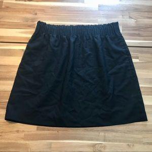 J. Crew Factory Winter Wool Sidewalk Skirt Sz 12